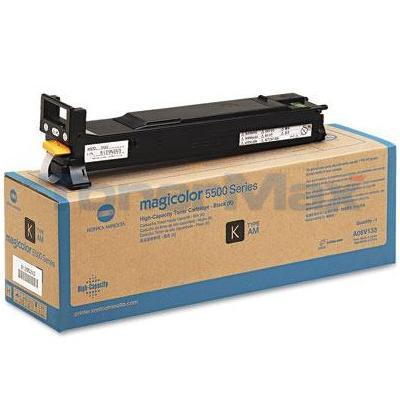 KONICA MINOLTA MAGICOLOR 5550 120V TONER BLACK HY